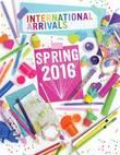 International Arrivals - Spring 2016