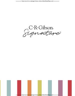 C.R. Gibson - 2021 Signature Mid-Year