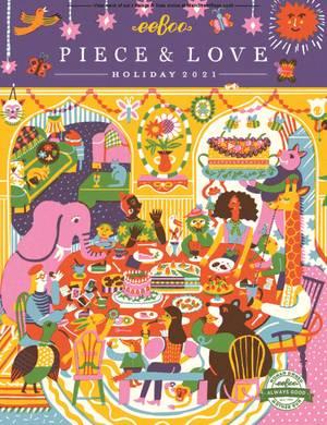 eeBoo - Piece & Love Holiday 2021
